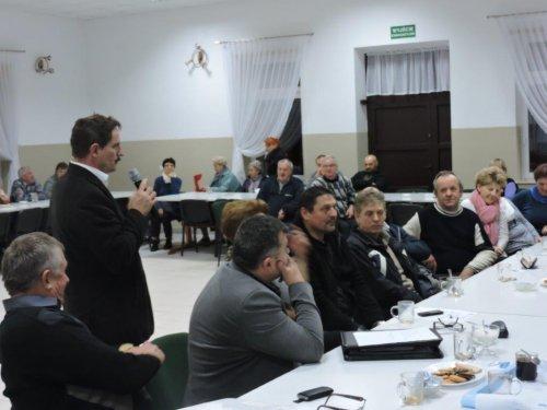 Informacja ospotkaniach Wójta zmieszkańcami na temat założeń do projektu budżetu gminy na rok 2017